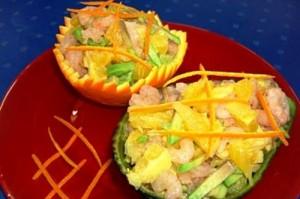 Салат из авокадо на Новый год